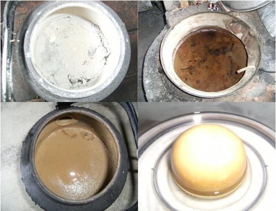 Hình 2: Tác động của nước giếng đến các vật dụng trong gia đình