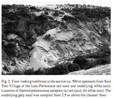 Địa tầng Suối Tiên