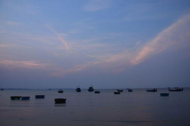 Hoàng hôn trên vịnh Vũng Tàu