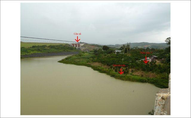 Bãi bồi thấp và thềm bậc 1 ở bờ trái sông Đa Quyeon