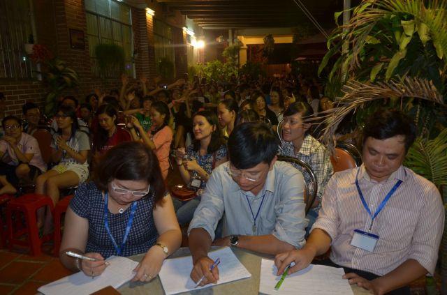 Ban giám khảo cho buổi biểu diễn văn nghệ