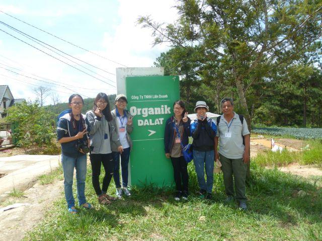 Rời trang trại Organik Dalat cùng nhóm 5