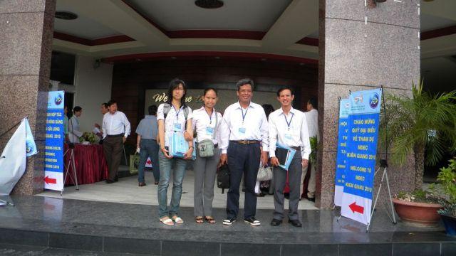 Tham dự hội nghị MDEC tại Kiên Giang