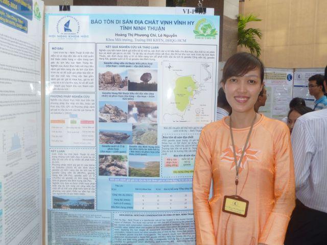 Hoáng Phương Chi_Bảo tồn di sản địa chất vịnh Vĩnh Hy, tỉnh Ninh Thuận