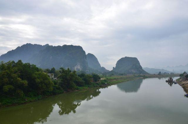 Sông Bôi đoạn qua Nhiễm Hạ