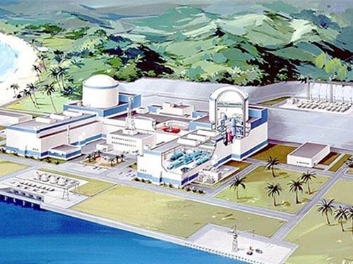 Mô hình nhà máy điện hạt nhân Ninh Thuận 1. Nguồn internet