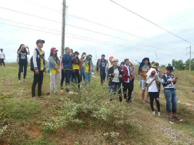 Hồng Nhung giới thiệu về tiềm năng điện gió Bình Thuận