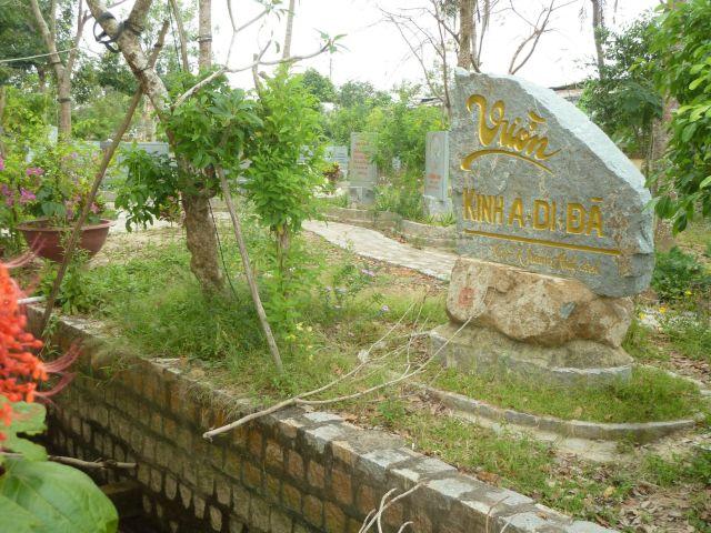 Vườn kinh Vườn kinh A Di Đà