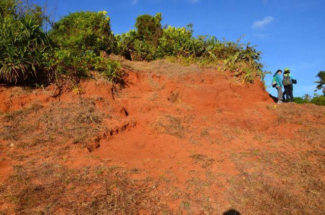 Cát đỏ Phan Thiết trên đảo Phú Quí
